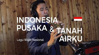 Download Indonesia Pusaka & Tanah Airku - Medley (Saxophone Cover by Desmond Amos) Mp3