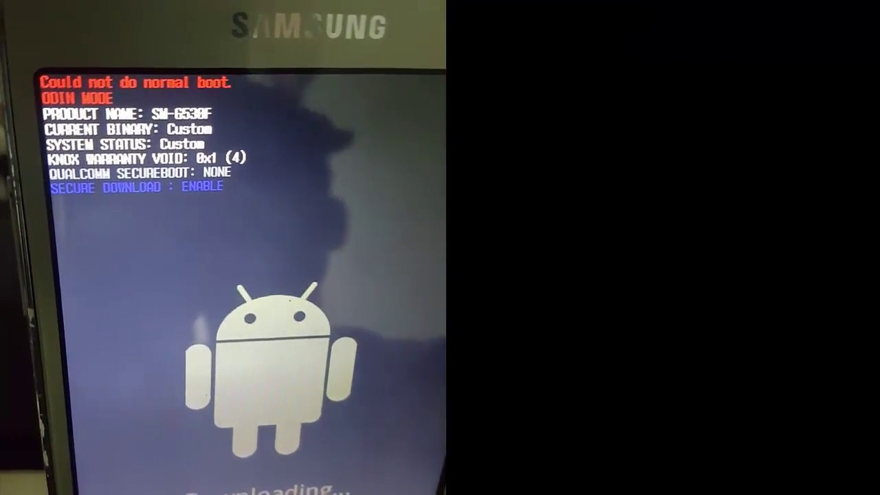 Could Not Do Normal Repair Galaxy Sm G530f Youtube