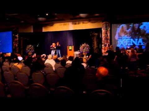 Xena convention 2012 karaoke 1