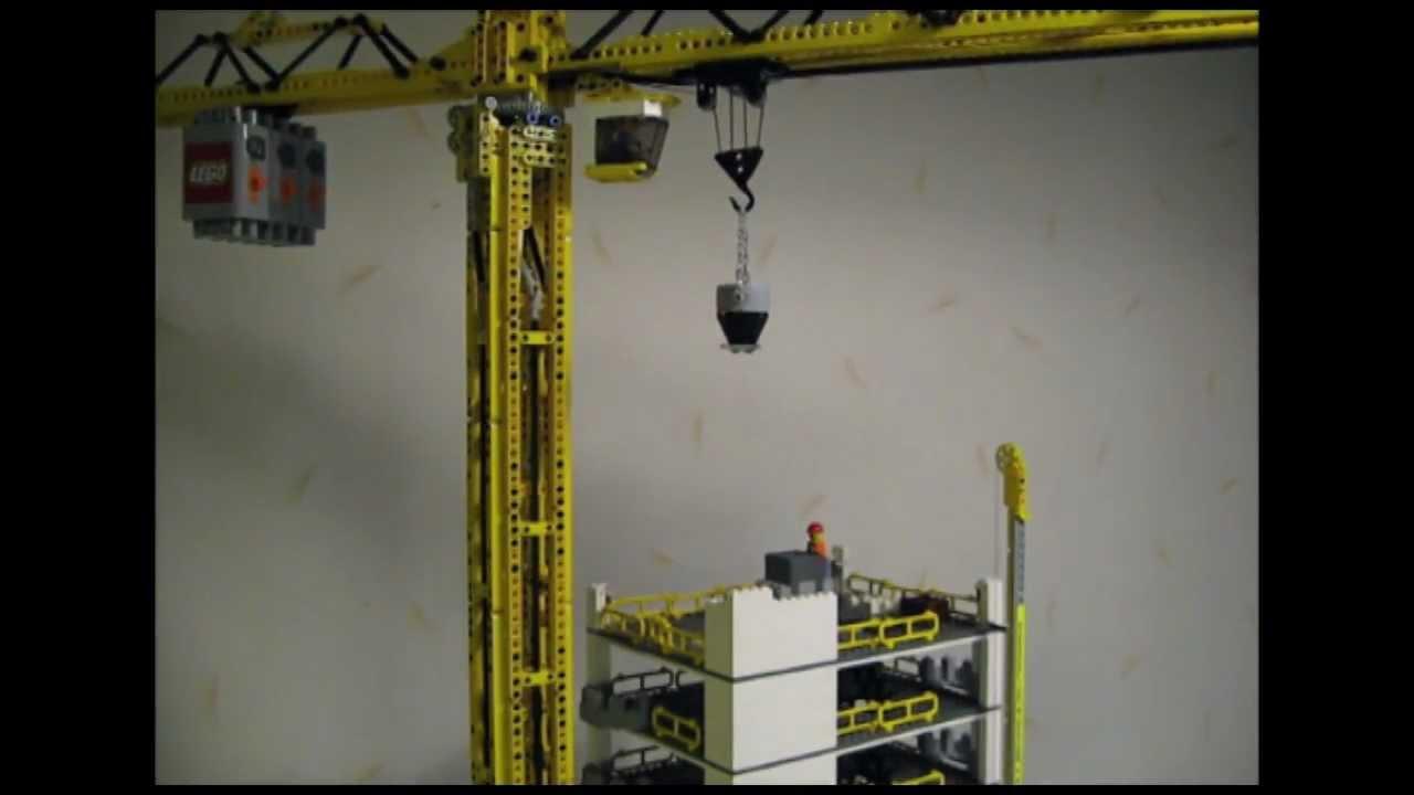 how to run a crane