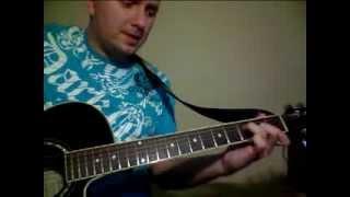 Я люблю тебя до слез,музыка Серова.Уроки игры на гитаре.Виталик Мясников
