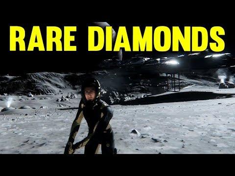 RARE DIAMOND FIND | Star Citizen 3.0 Gameplay PTU Alpha #14