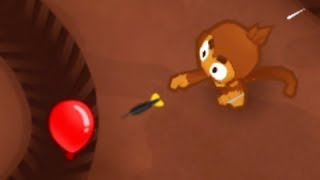 The Biggest One Is OP! 1 Mortar Only Vs  Round 100 (Bloons