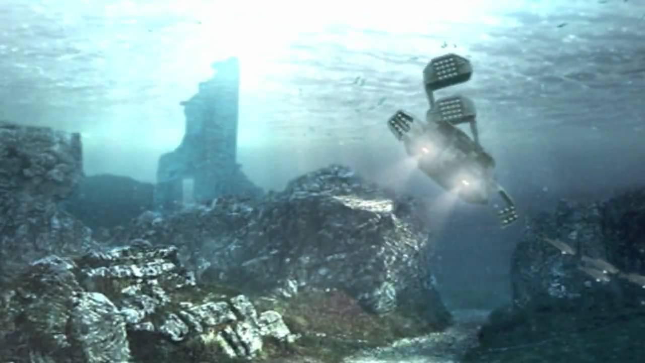 Underwater Atlantis Alien Dropship - YouTube