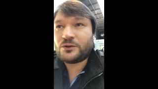 Robert Fleischer am Brüsseler Flughafen 2017 | Facebook Live