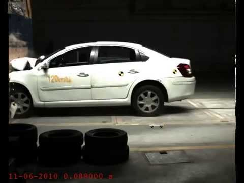Crash test volkswagen Passat#1