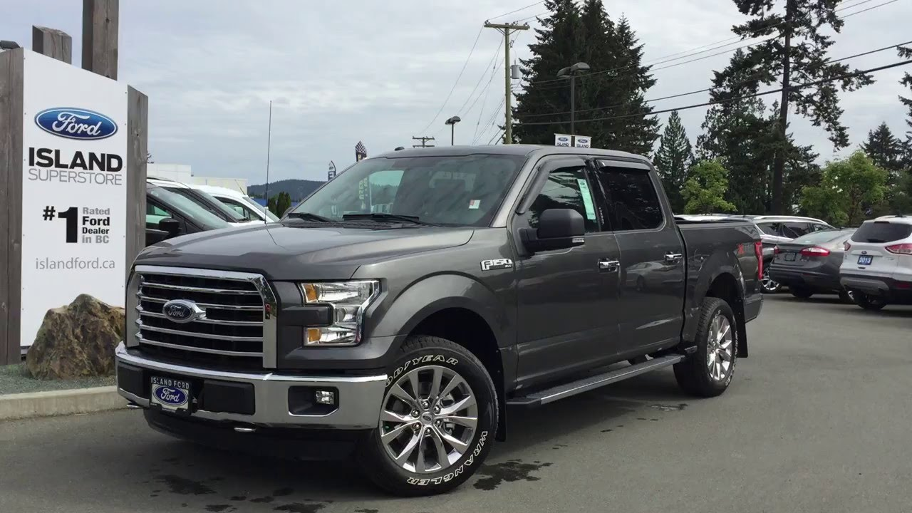 2016 Ford F 150 Xlt Supercrew 4x4 Xtr Island