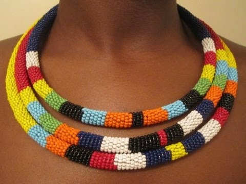 Diy tribal necklace youtube diy tribal necklace solutioingenieria Image collections