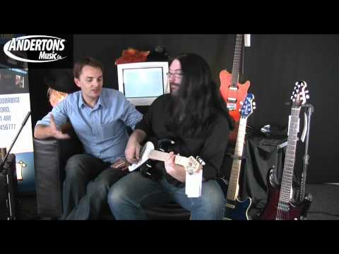 Music Man Sterling AX Guitars Demo - Part 1 of 2