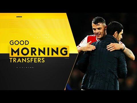 How Arteta Convinced Xhaka To STAY At Arsenal! | Good Morning Transfers