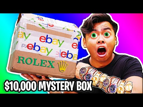 UNBOXING a $10,000 eBay Mystery Box (Mystery Safe FOUND!)