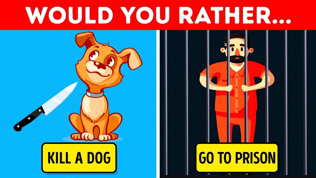 WOULD YOU RATHER? 21 TEASERS AND RIDDLES TO MAKE YOU SWEAT