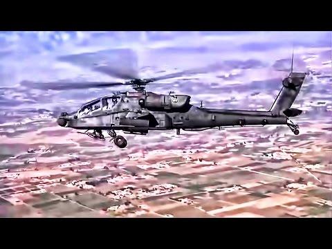 AH-64 Apache Helicopter • FLIR Combat Guntape
