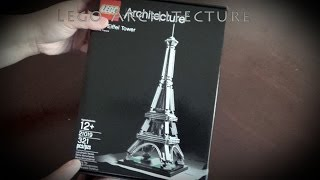 Building The Lego Architecture The Eiffel Tower #21019