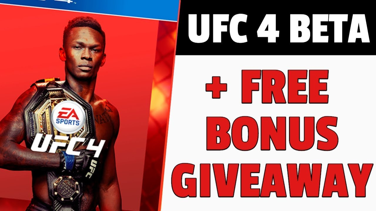 Ufc 4 Beta Download Free Bonus Giveaways When You Use My Link Ufc 4 Update Ufc 4 News Youtube