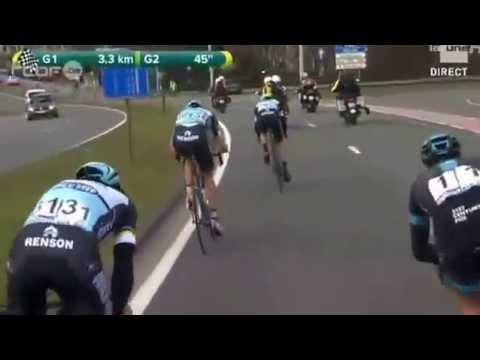 Omloop Het Nieuwsblad 2015  Km finais
