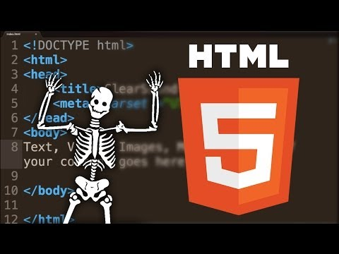 The Skeleton Of A HTML 5 Document