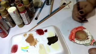 Pintura Country & Pintura Decorativa (pintura country en corte laser)