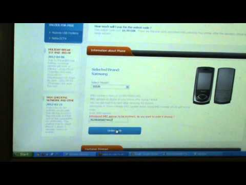How to unlock samsung s5530 whit sim-unlock.net