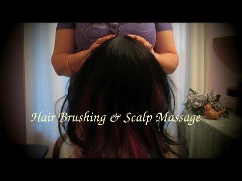Scalp Massage ASMR Hair Brushing