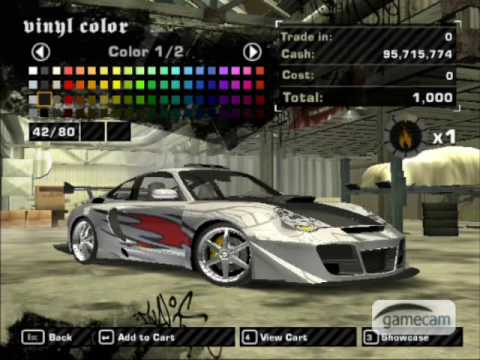 nfs most wanted porsche 911 turbo s tuning youtube. Black Bedroom Furniture Sets. Home Design Ideas