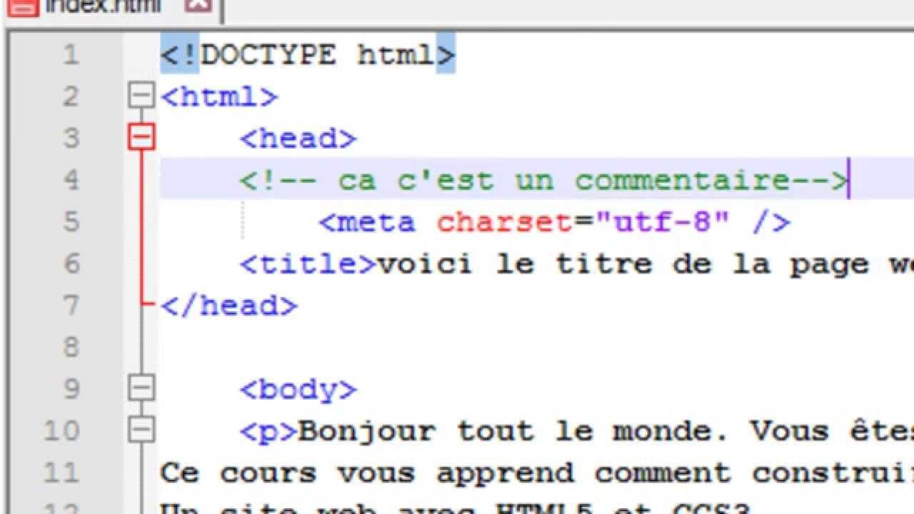 faire un cv html css