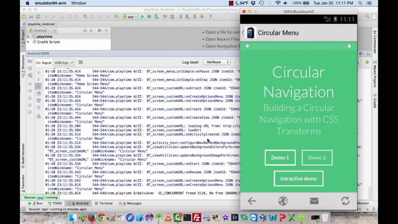 Fifteen Minute Tutorial : Using LogCat in Android Studio