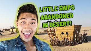 Most Remote Beach on Earth in Skeleton Coast, Africa | Eating Wild Oryx | Scary Shipwrecks