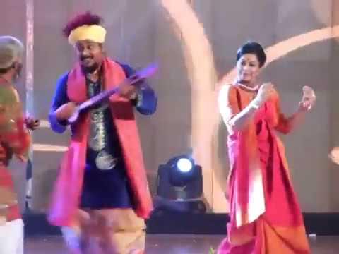 Kartik Das Baul, Iman Chakraborty and Tirtha Perform in Tele Academy Award Programme