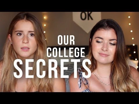 COLLEGE SECRETS NO ONE TALKS ABOUT