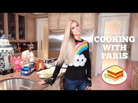 JRDN - Paris Hilton Has A Cooking Show