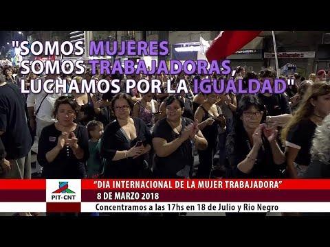 PIT-CNT Fernanda Aguirre Invitación al 8 de marzo 2018