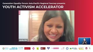 Full video: Asia-Pacific Generation Equality Dialogue: Youth Activism Acceleration, Day 3