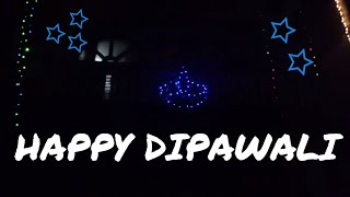 ||Happy Tihar|| Making diyo out of tihar lights