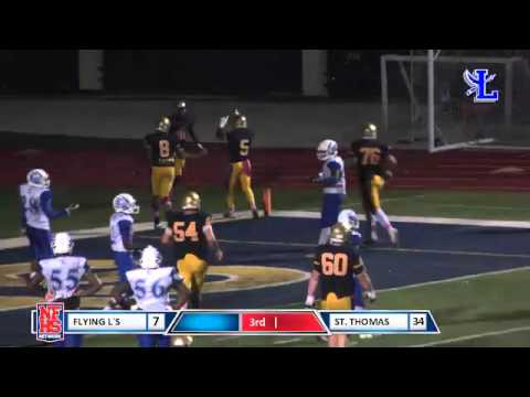 St. Thomas #81 Josh Palmer 6yd TD catch