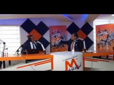 Entrevista a Rafael Correa en Radio Majestad de Quito.