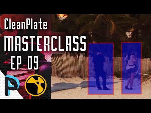 How to do Pan Shot Clean Plate Using 3D Sphere Part 1 - NUKE Clean Plate Masterclass - EP 09 [HINDI]