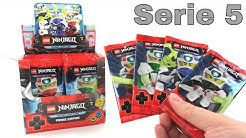 LEGO Ninjago Trading Card Game Serie 5 / komplettes Display Unboxing / 50 Booster / Pack Opening