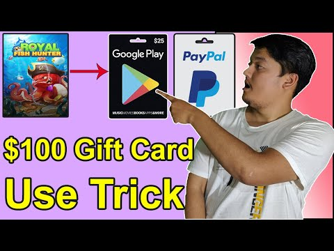 Earn Google Play Gift Card In 2020   Earn PayPal Gift Card   Royal Fish Hunter Payment Proof