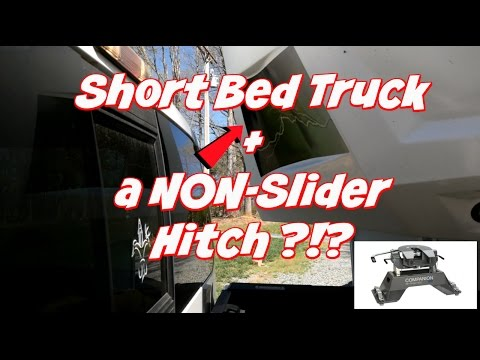 New B & W Companion 5th Wheel Hitch in a Short Bed Truck~Pt 2