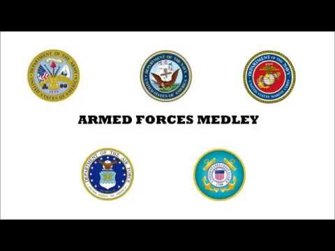 Armed Forces Medley (With and Without Vocals)