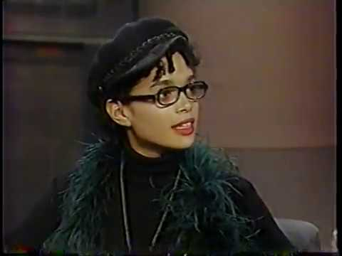 Lisa Bonet @ The David Letterman  1990
