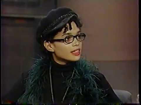 Lisa Bonet @ The David Letterman  1990