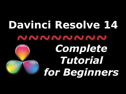 How to Edit a Video in Davinci Resolve 14 | Complete Tutorial for Beginners