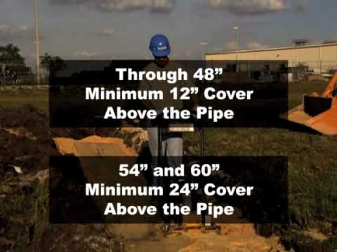 HDPE Pipe Installation Video - HDPE Pipe Backfill Procedure