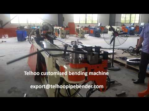 Telhoo customised cnc pipe bending machine for handle bar of grass cutter machine