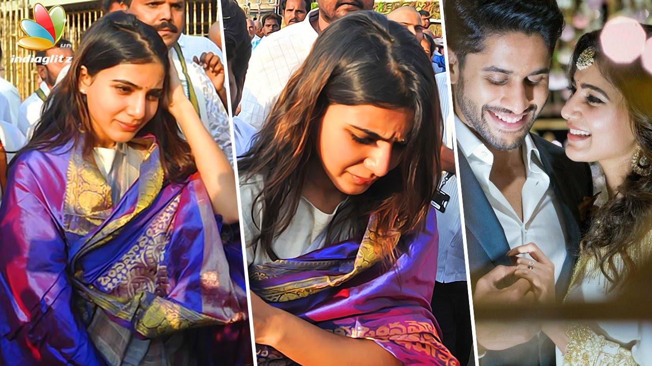 Actress Samantha Visits Tirumala Tirupati After Announcing Her Wedding Date
