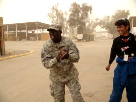 J-Black dancing with the iraq's