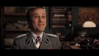 """Inglourious Basterds (2009) Scene: """"If the shoe fits..."""""""