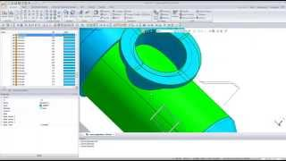 Create Pressure vessel geometry from Autocad drawing inside midas NFX